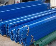 波形护栏板蓝色