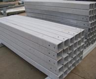 护栏板方管立柱