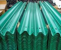 波形护栏板绿色